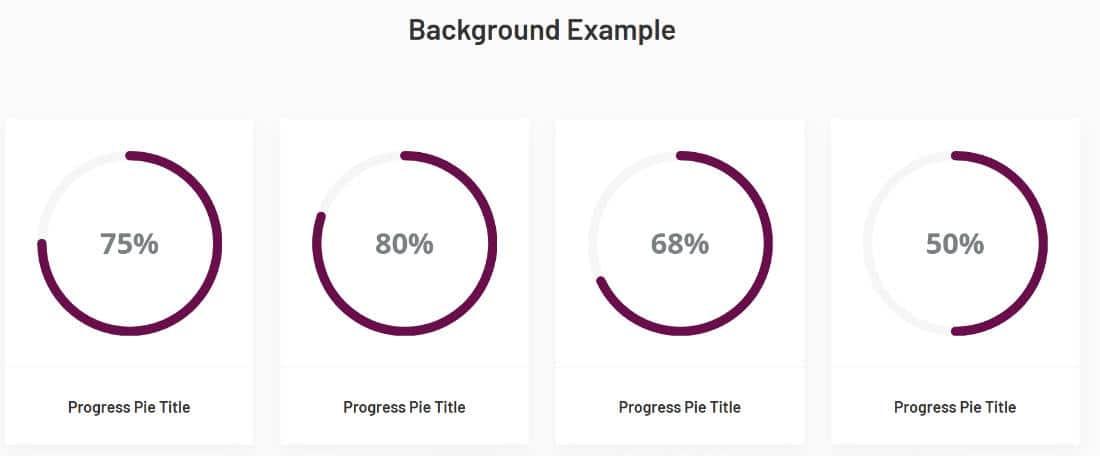 Element pack lite widget Progress Pie