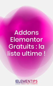 Read more about the article 20 addons incontournables pour Elementor